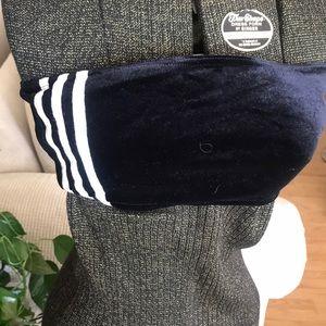 3 Stripe Adidas Velour sexy Bra